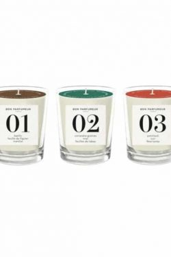 Bon Parfumeur<br>3 Candles Set