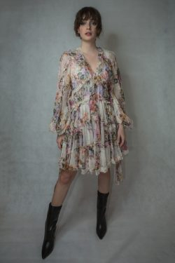 Zimmermann Brighton Frill Billow Dress