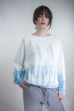 Nili Lotan Sweater Sky Blue