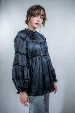 Zimmermann Silk Tiered Blouse