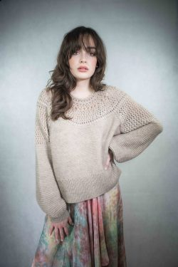Mes Demoiselles Knitted Sweater Picchu