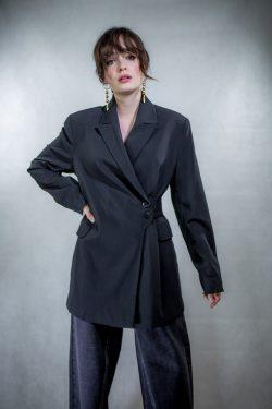 Ganni Light Wool Blazer
