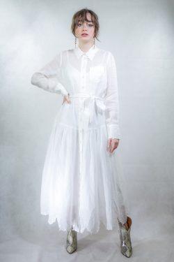 Zimmermann The Lovestruck Shirt Dress
