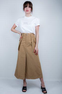 Ganni Utility Canvas Skirt
