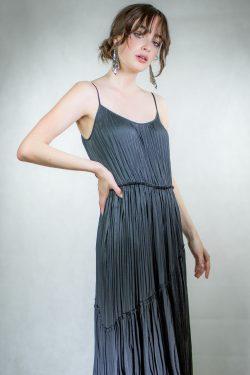 Vince Tiered Asymmetric Dress