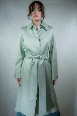 Vince Belted Long Coat