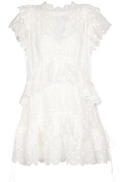 Zimmermann Mae Dot Mini Dress