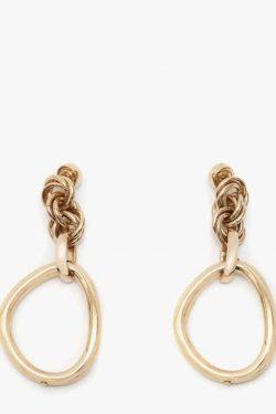 JW Anderson Oversized Link Chain Earrings