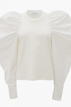 JW Anderson Ruched Long Sleeve Top